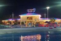 重庆合川区花滩国际水上乐园 夜景亮化工程