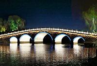 """济南""""一湖一环""""景观照明升级,尽享泉城夜宴!"""