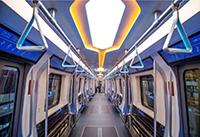 """""""下一代地铁列车""""即将全新驶来,车内采用LED照明未来感十足!"""