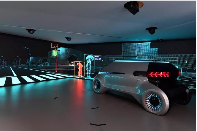 汽车照明新概念!现代摩比斯让自动驾驶更安全