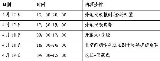 """""""协作 · 发展 · 共荣""""北京照明科技论坛暨北京照明学会成立四十周年庆典通知"""