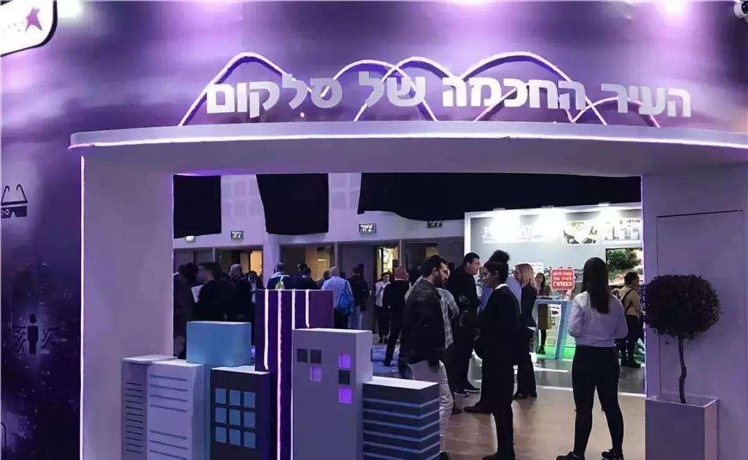 中国智慧灯杆亮相以色列2019智慧城市展
