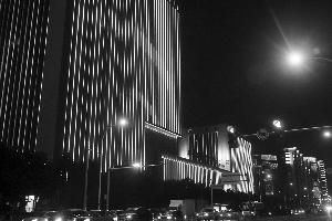 夜晚到建筑路,看璀璨城市夜景