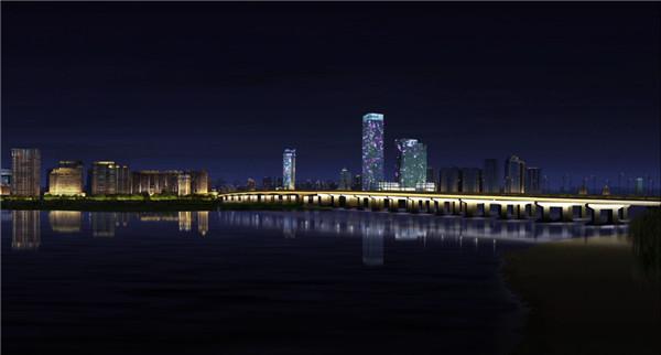 松浦大桥亮化效果图。(市城管局提供).jpg