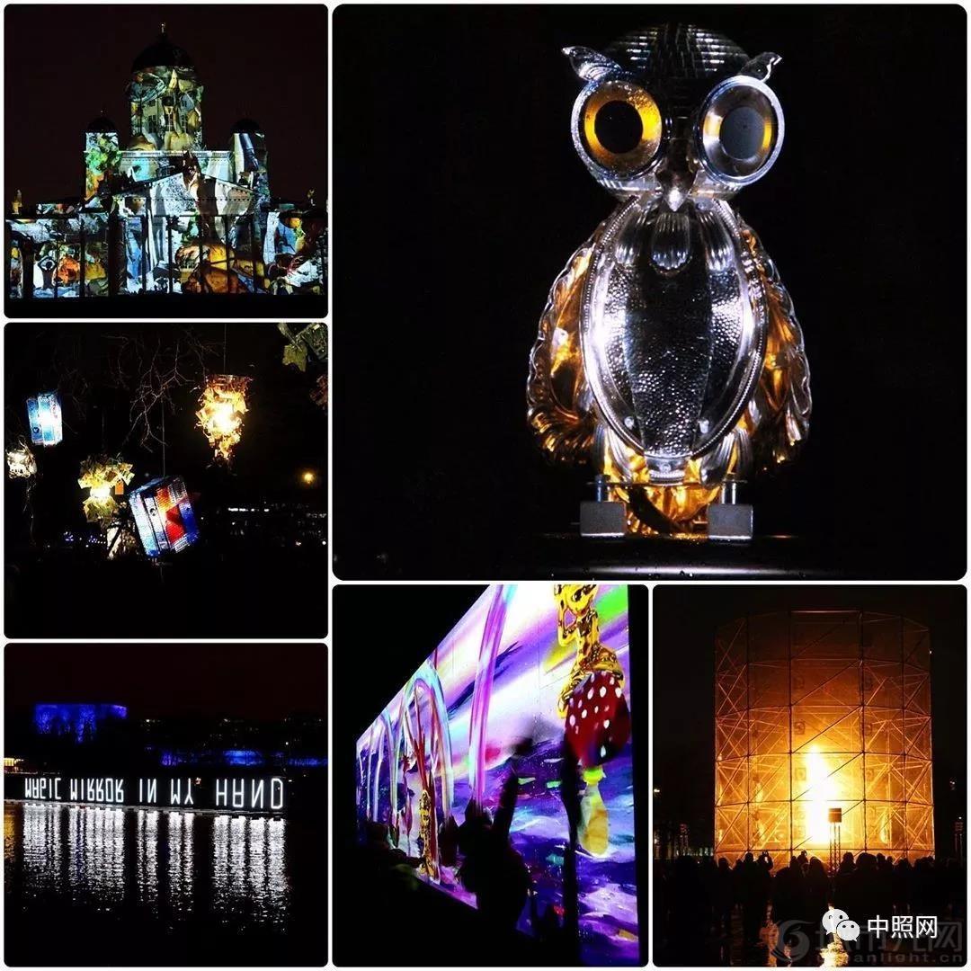 芬兰赫尔辛基灯光艺术节 冬夜里的灯光盛宴3.jpg
